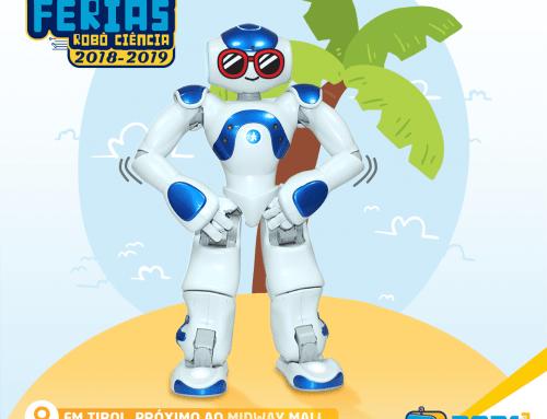 Colônia de Férias da Robô Ciência: muita diversão e robótica!