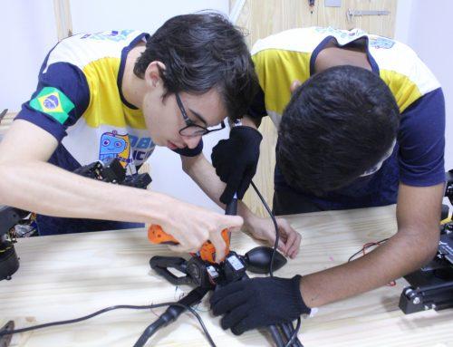 A Olimpíada Brasileira de Robótica na formação de jovens cientistas